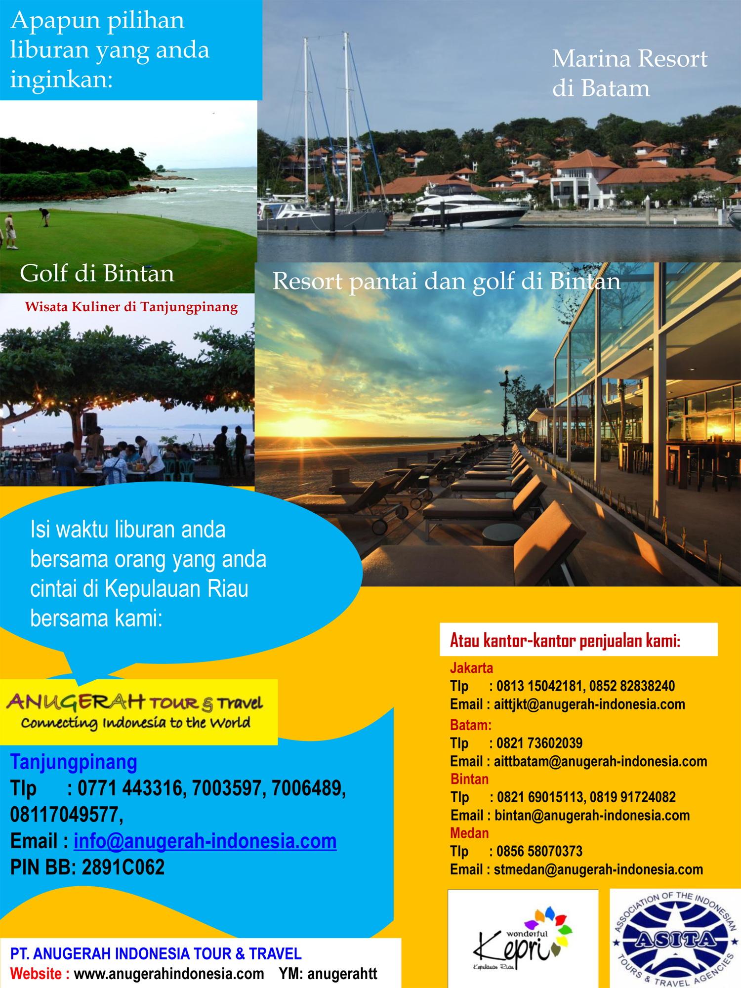 June 2013 Anugerah Indonesia Tour Travel