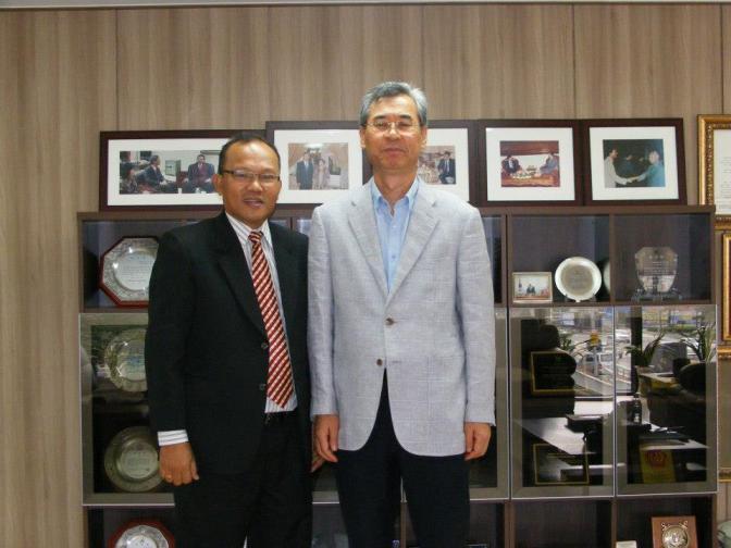 dengan prof kim