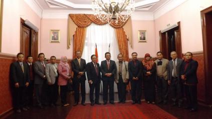 courtesy call to indonesian vice ambassador to russia